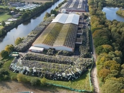 Drone pictures shows scale of £6 million clean-up by Shrewsbury firm