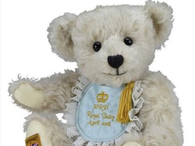 Ironbridge firm creates teddy bear to honour new prince
