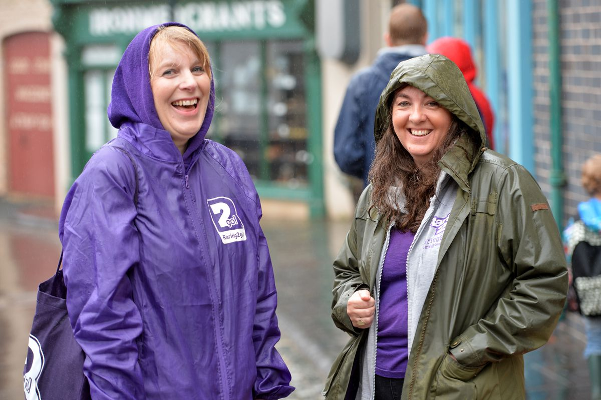 Jo Messinger and Lisa Bayliss are impressed with the measures that have been taken