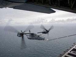 American aircraft join RAF allies in training exercise over North Sea