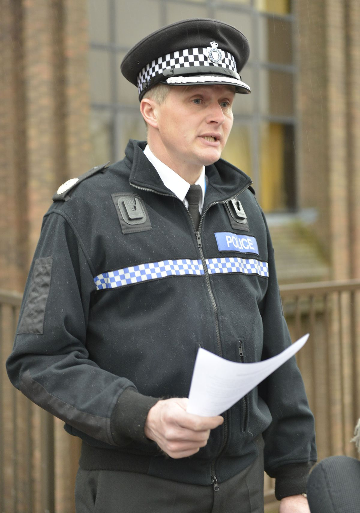 Assistant Chief Constable Martin Evans