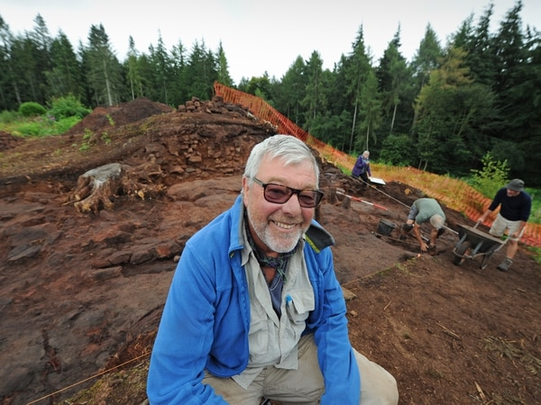 Guard chambers among finds of national significance at Shropshire Iron Age hillfort dig