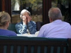 Care home opens up for socially-distanced visits