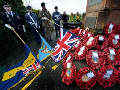 Remembrance Sunday: Shropshire and Mid Wales pay tribute to fallen heroes - with PICTURES