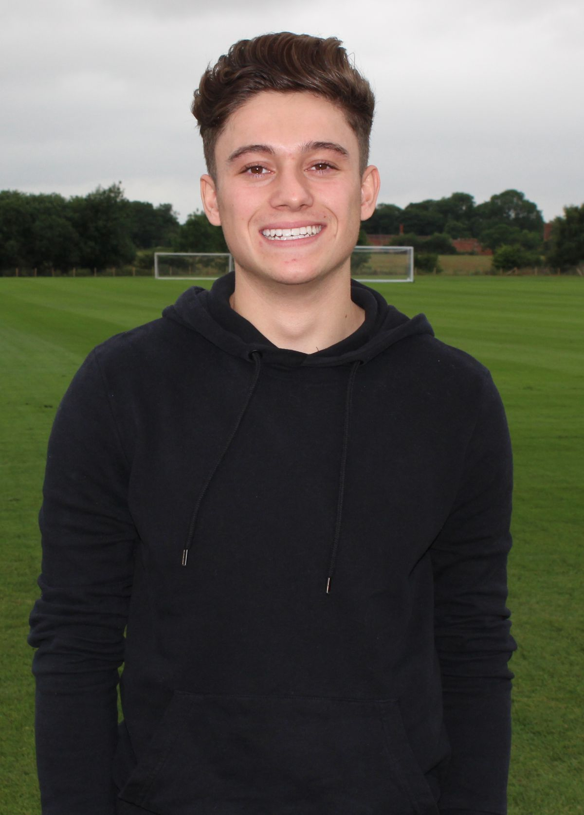 Daniel James checks in at Shrewsbury