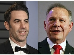 Sacha Baron Cohen asks judge to dismiss Roy Moore lawsuit
