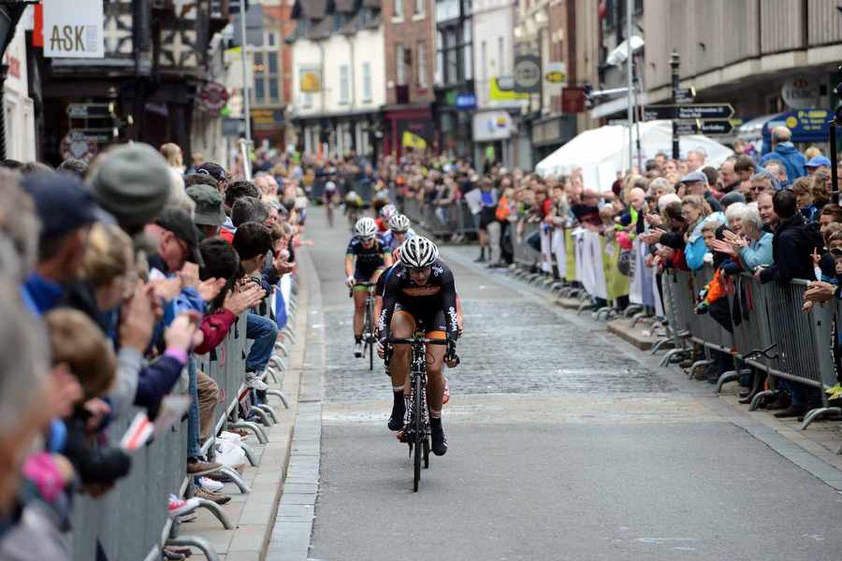 Shrewsbury cycling grand prix hailed as a huge success
