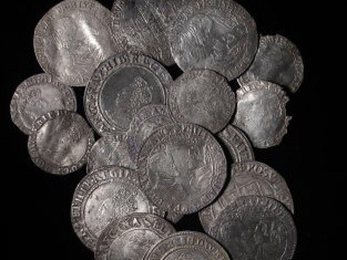 The Tudor coin hoard