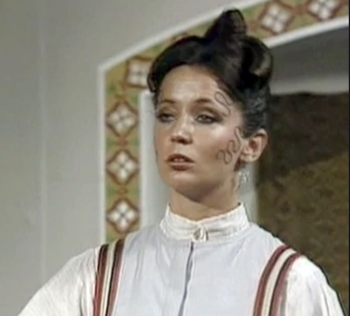 As Madame Lamia in Doctor Who.