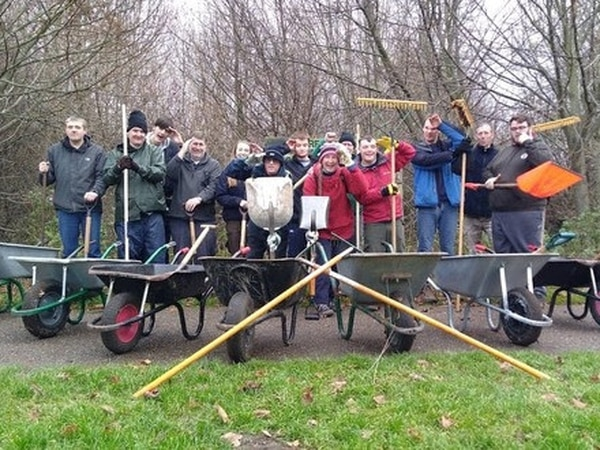 Wild team volunteer project saved at eleventh hour