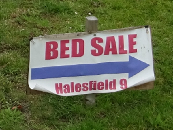 Telford bed company ordered to pay £1,700 after fly-posting sale signs