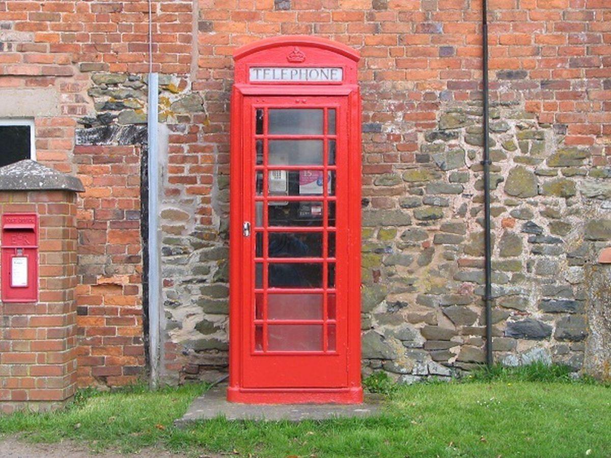 A Shropshire payphone