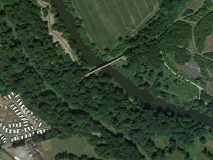 The woman was rescued near Severn Valley Country Park. Photo: Google