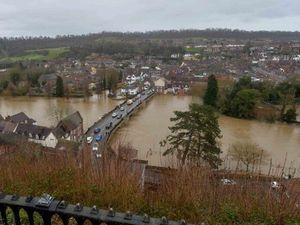 Flooding in Bridgnorth last Tuesday