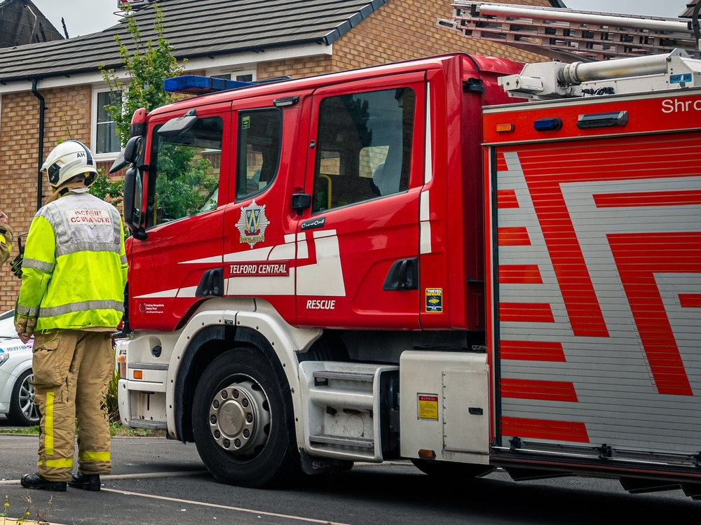 Three-car crash in south Shropshire