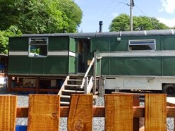 Fairground wagon solves extra bedroom problem