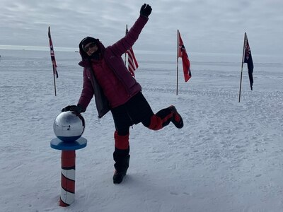 From Wrekin Barrel Race to the South Pole for Antarctic explorer Wendy