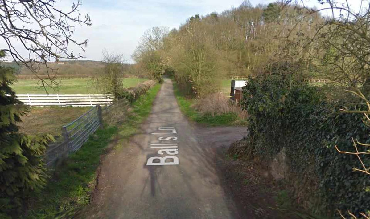 The narrow Ball's Lane. Picture: Google Maps