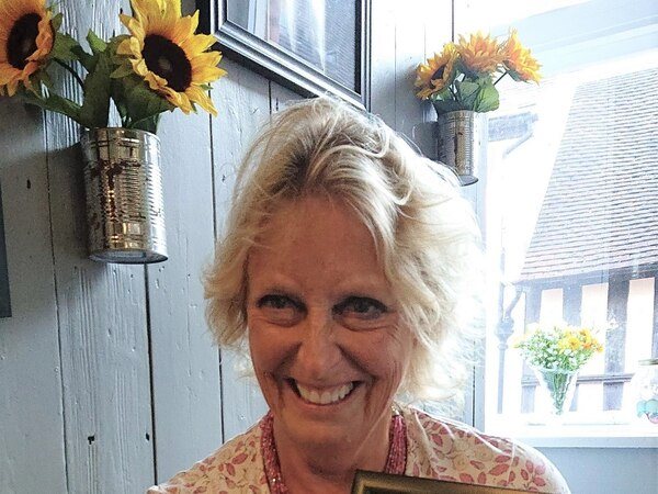 Shropshire woman given national award for volunteer work