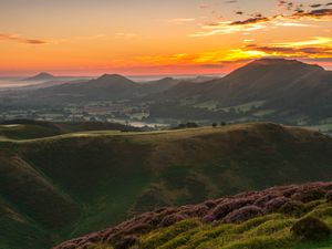 The Shropshire Hills AONB is one of the county's major tourist attractions