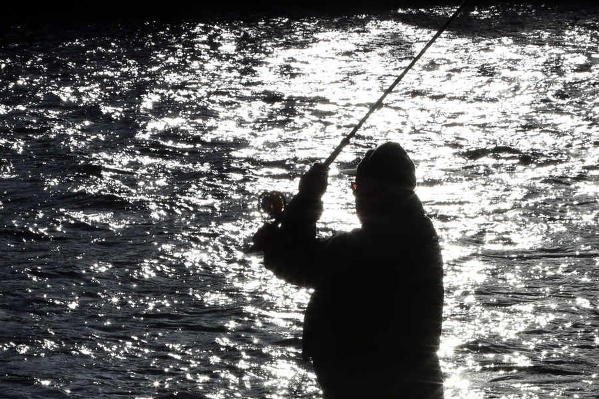 Angling's Steve Laurence signs off with victory