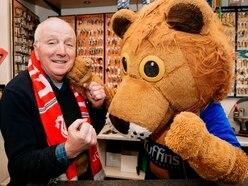 Lifelong love of football for Shrewsbury's Lenny the Lion
