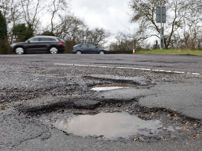 Potholes caused £70,000 of damage to emergency service vehicles