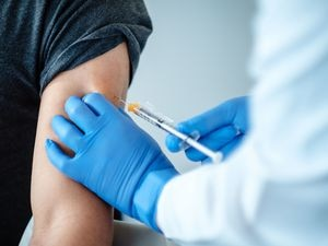 EDITORS PLEASE NOTE: NO USE AFTER NOVEMBER 15..Undated © BioNTech SE 2020 of a patient being given a dose of a coronavirus vaccine produced by BioNTech. PA Photo. Issue date: Monday Novmber 9, 2020. A major breakthrough has been announced in the search for a coronavirus vaccine, with the jab from Pfizer found to be more than 90% effective. The pharmaceutical giant and its partner BioNTech said interim results showed their jab could prevent people developing Covid-19. See PA story HEALTH Coronavirus. Photo credit should read: © BioNTech SE 2020/PA Wire.