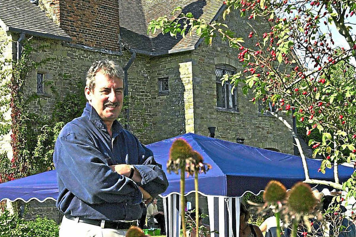 Interview: John Challis talks moving to Shropshire ahead of new book, Wigmore Abbey: The Treasure Of Mortimer, release