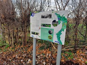 New interpretation boards have been installed at Rea Brook Valley Nature Reserve