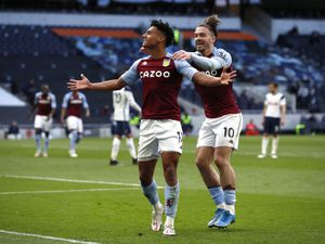 Ollie Watkins, pictured with Jack Grealish, enjoyed an excellent debut Premier League season.