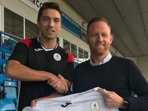 AFC Telford United complete signing of experienced Brackley midfielder Adam Walker