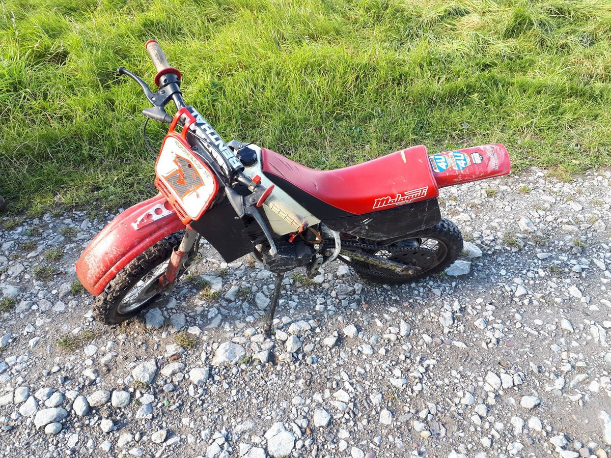 Police stopped a 10-year-old riding this bike in Granville Country Park, Telford. Picture: Telford Cops